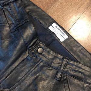 "One Teaspoon ""Leather"" Jeans"